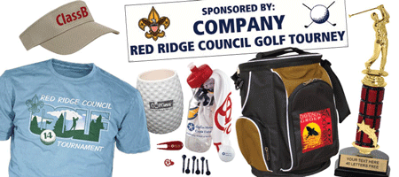 BSA council golf tournaments gear