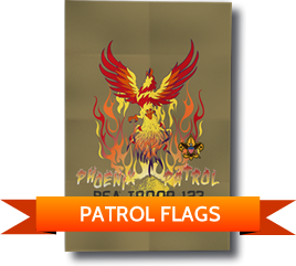 Custom BSA Patrol Flags