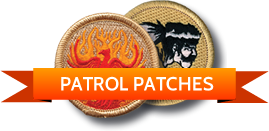 Custom BSA Patrol Patches