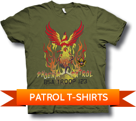 Custom BSA Patrol T-Shirts