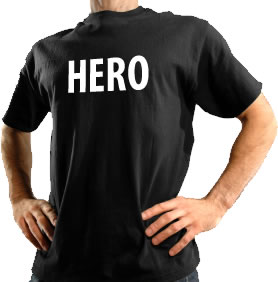 Be a hero use the first time t-shirt buyers guide before ordering