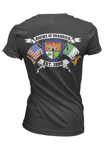 Custom T-shirt Screen Printing on back side